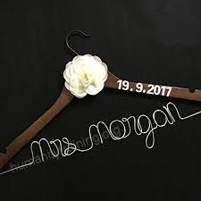 wedding dress hanger custom wedding hanger personalized bridesmaid gift bridal shower