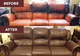 leather restoration vinyl u0026 leather paint furniture repair