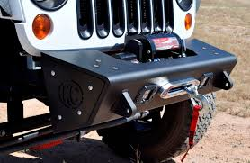 custom jeep bumpers 2007 2017 jeep jk kc hilites front bumper center w tow hooks