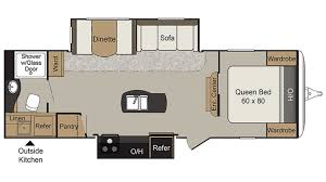 keystone passport elite rv new u0026 used rvs for sale all floorplans