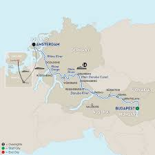 Holland On World Map by Budapest To Amsterdam River Cruise Avalon Europe Cruises
