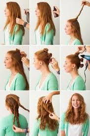 Hochsteckfrisurenen Einfach Locken by простые прически на каждый день укладка длинных волос