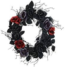 shop for the rose with spider wreath by ashland at michaels