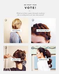 4 easy summer updos u0026 vote for a video tutorial verily