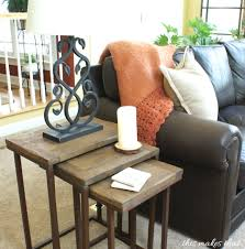 pottery barn nesting tables pottery barn granger nesting tables this makes that this makes that