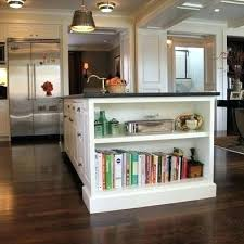 kitchen island with shelves open shelf kitchen island beay co