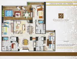 Bedroom Floorplan by Floor Plans Grand Luxxe Residence