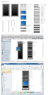 network diagramming software for design rack diagrams rack