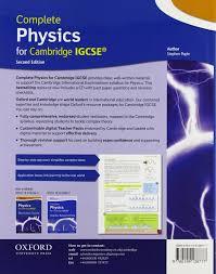 amazon com complete physics for cambridge igcserg with cd rom