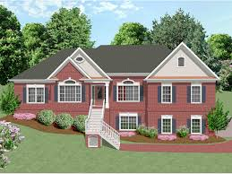 multi level homes freeman split level home plan 013d 0092 house plans and more