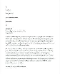 entry level engineering cover letter example common mistakes u0026 tips