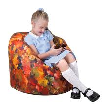 autumn leaves childrens bean bag eden learning spaces