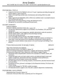Sample Resume Executive by Executive Assistant Resume Is Made For Those Professional Who Are