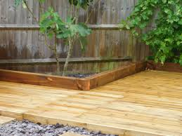 decking ideas for gardens landscaping in swindon garden ezee ltd