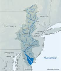 map of maryland delaware and new jersey delaware river american rivers