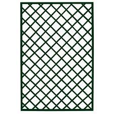 traliccio legno traliccio fisso in legno duro con cornice colore verde tralicci