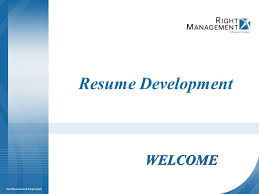 Facilitator Resume Resume Development Welcome Materials Resume Guidelines Worksheets