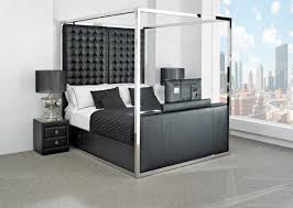 Bed Frame With Tv In Footboard Beds With Tv In Footboard Look 8 The Belmond Tv Bed