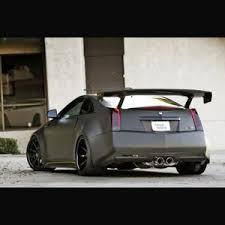cadillac cts coupe 2009 apr performance gtc 500 carbon fiber adjustable wing 2009 up