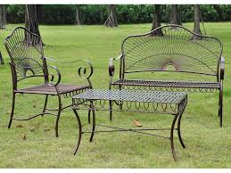 Iron Wrought Patio Furniture by Furniture Trends Cast Iron Patio Furniture Family Patio