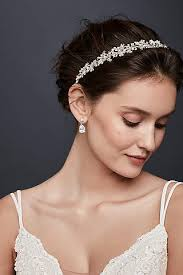 forehead headband bridal wedding headbands david s bridal