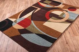 Geometric Area Rug by Area Rug Loomed Black Modern 7 U0027 10 X10 U0027 6 Geometric Carpet 95929