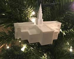 winter quarters ne lds temple christmas ornament