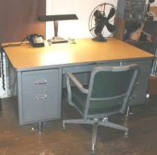 Vintage Office Desk Office Machines