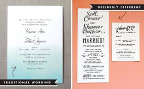 wording for wedding invitations invitation wording and etiquette