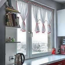 Curtains With Red Decorations Room Red Black And White Kitchen Curtains Red And