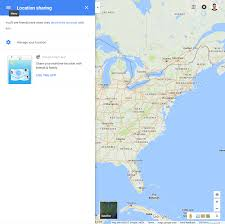 Google Map Of Florida How To Enable Google Maps U0027 Location Sharing Feature On Your Phone