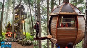 6 INSANE Treehouses You wont Believe Exist  ListKing Treehouse