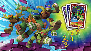 teenage mutant ninja turtles imagicard math game kids leapfrog