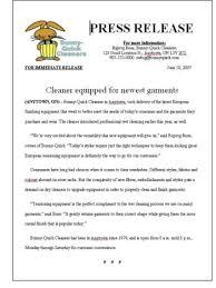 good press release examples u2013 download reviews
