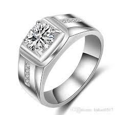 mens diamond engagement rings lsl jewelry luxury cz diamond square designs engagement wedding