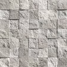 muriva bluff square tile pattern stone brick vinyl wallpaper j19009