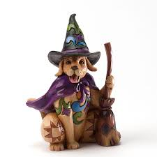 halloween figurine canine pint sized halloween dog figurine