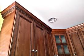 how to do crown molding on kitchen cabinets how much does crown molding cost angi
