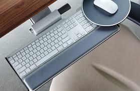Mouse Platform Under Desk Keyboard Tray And Mouse Platform Ergonomic Keyboard Support From
