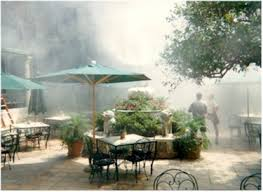 Patio Misters High Pressure Stainless Steel Restaurant U0026 Bar Misting System