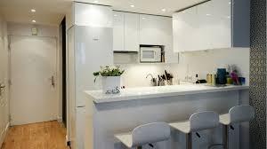 cuisine americaine appartement cuisine ouverte sur salon petit espace 5 avant apr232s une