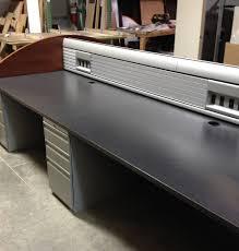 Knoll Office Desk Used Knoll Trading Desks Saraval Industries