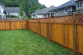 Types Of Backyard Fencing Five Most Popular Types Of Wood Fences