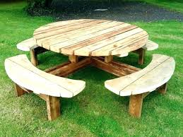 round picnic tables for sale round outdoor settings wooden bench table wooden bench chairs pub