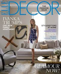 Elle Decor Celebrity Homes House Tour Ivanka Trump U0027s Chic New York Apartment Featured In