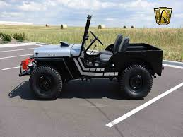 custom willys jeep 1950 willys jeep for sale classiccars com cc 1011494