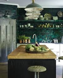 green kitchen tile backsplash green kitchen backsplash ohfudge info
