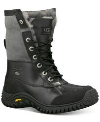 ugg s adirondack ii leather apres ski boots ugg s adirondack ii cold weather boots boots shoes macy s