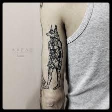 Anubis Tattoo Ideas Blackwork Anubis Tattoo By Abra Black Best Tattoo Ideas Gallery