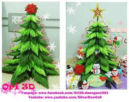 D Christmas Tree Cake - 38 best christmas 3 d origami images on pinterest modular